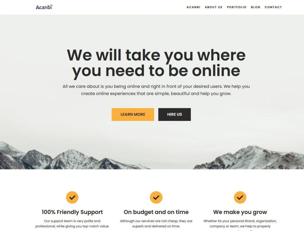 Acanbi.com business growth