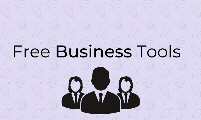 Free Business Tools Business owners