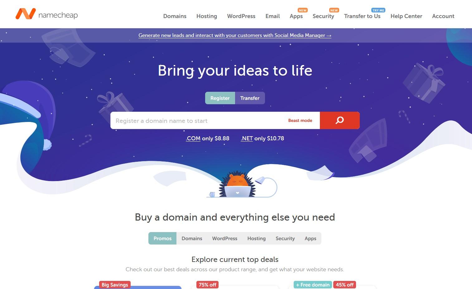 namecheap domain names