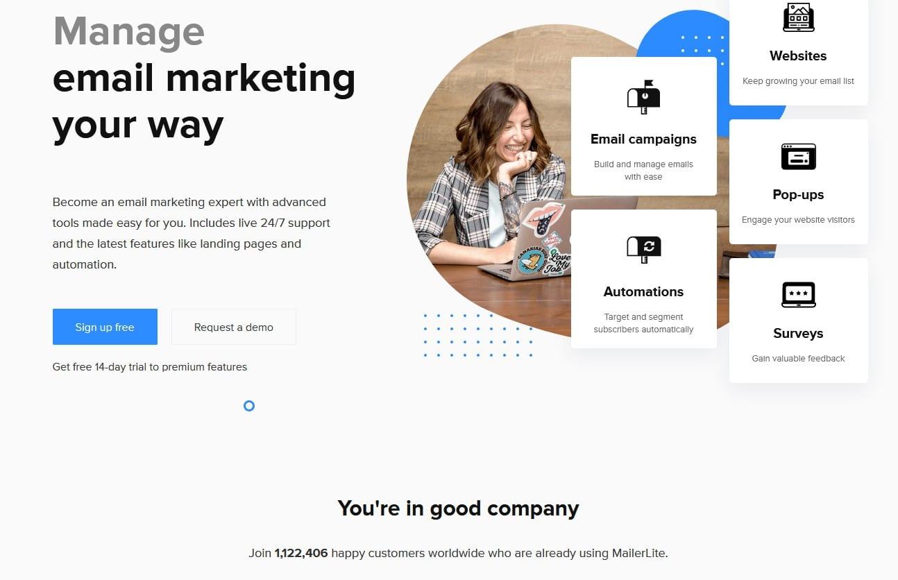 mailerlite mailchimp alternative   Email marketing